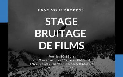Stage Bruitage de films